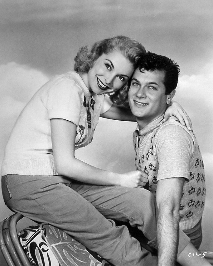 Janet Leigh | Janet Leigh and Tony Curtis; 1954