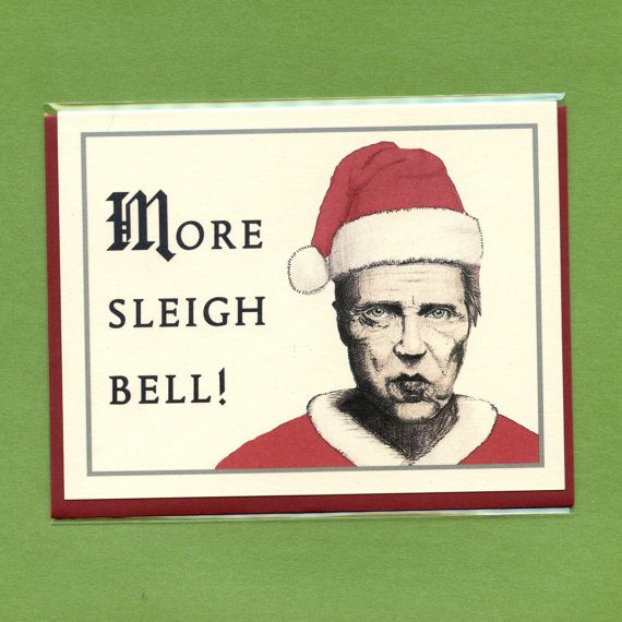 15 of the most hilarious Christmas cards. (Christopher Walken just makes everything better, doesn't he?)