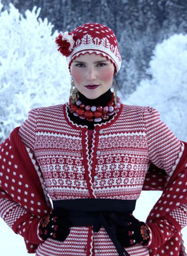 Oleana makes me want to do FairIsle.
