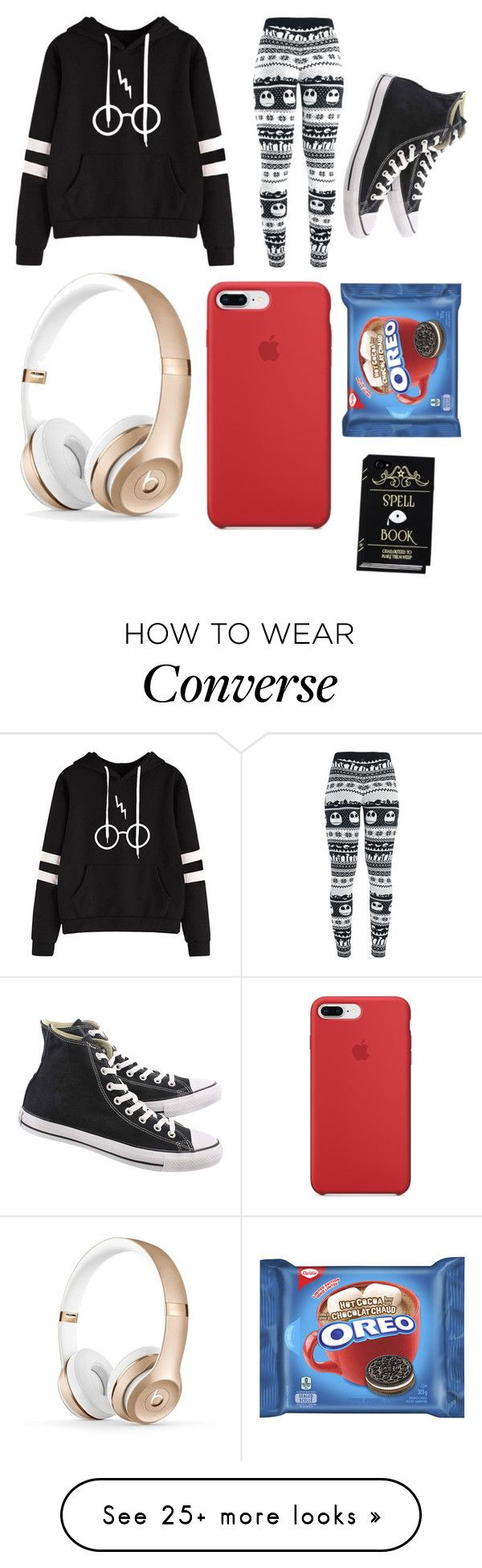 """""""Random"""" by aaruushiii on Polyvore featuring Converse"""