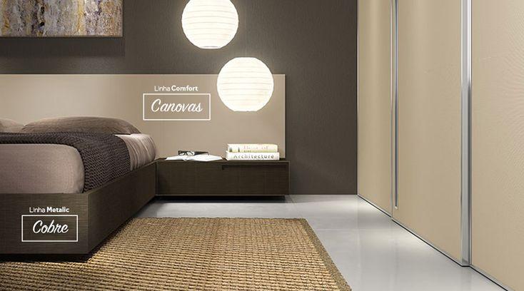 Padrão Canovas, da linha Comfort da Guararapes, é aconchegante e inovador. Combinação perfeita das fibras do linho com os efeitos visuais e táteis da textura Silk