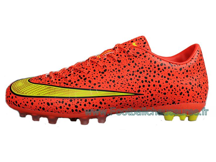 Nike Mercuril Victory V AG Chaussure DE Football Pour Pelouse Synthetique Pour Homme All Rouge - 1410213114 - Boutique Chaussures De Football,Maillot De Foot!