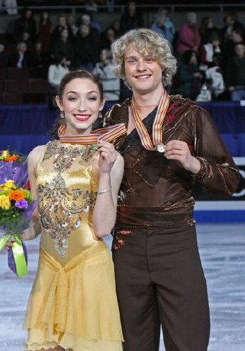 Meryl Davis and Charlie White (they're my favorite) They will be in the 2014 Olympics!!!