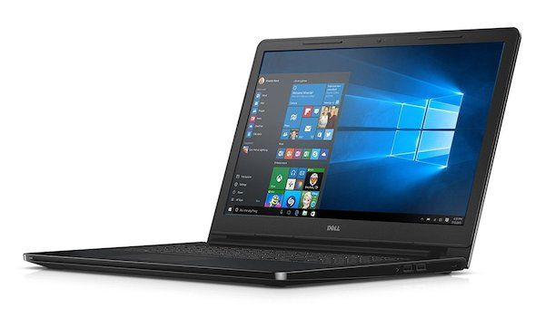"New Box Packed Dell Inspiron 15-3552 Texture Black Slim Laptop Fast Intel Quad Core upto 2.40GHz, 4GB Ram, Hard Drive 500GB, Intel HD Graphics Braswell, HDMI, HD 720p WebCam, Windows 10, 15.6"" HD LED Wide Screen Display, WiFi, Bluetooth, Spill-Resistant Keyboard, MultiTouch Trackpad, USB 3.0, Card Reader, Waves MaxxAudio"