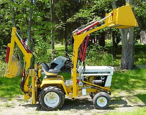 Gallery   Category: Customers Pics: Front End Loaders. Tractor MowerGarden  ...