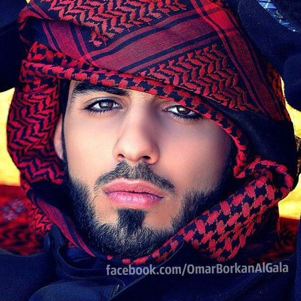 """Omar Borkan Al Gala, all I can say is WOW! He's gorgeous! Crazy fact that this man was thrown out of his own country being deemed """"Too Handsome"""". He could pass for being Latino easily but then again the Spaniards have Arabic descent in them as well. ;-)"""