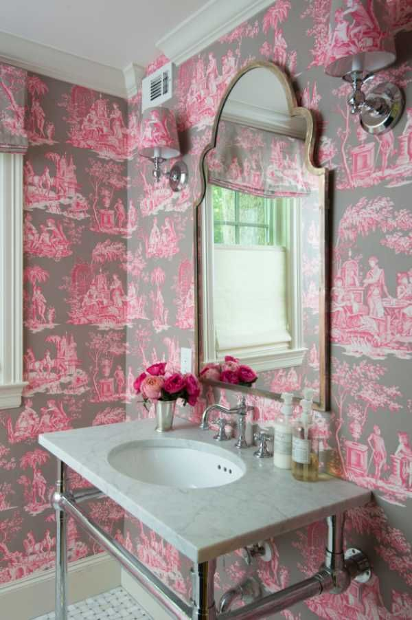 Обои фото для стен розовые – 90 фото для гостиной, кухни ...