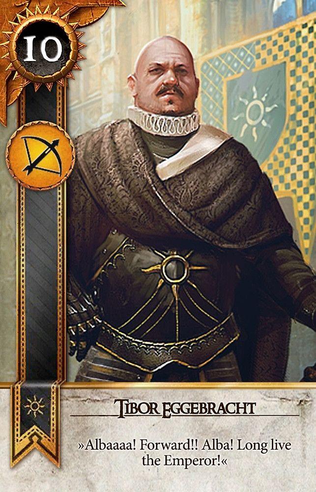 Tibor Eggebracht (Gwent Card) - The Witcher 3: Wild Hunt