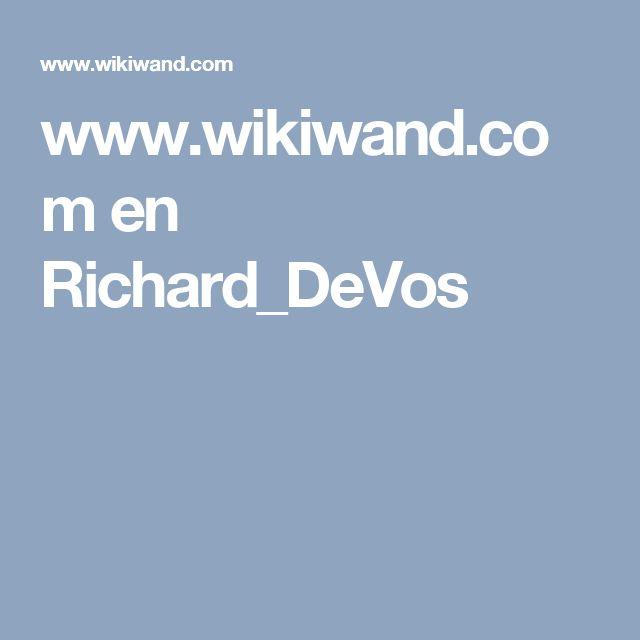 www.wikiwand.com en Richard_DeVos