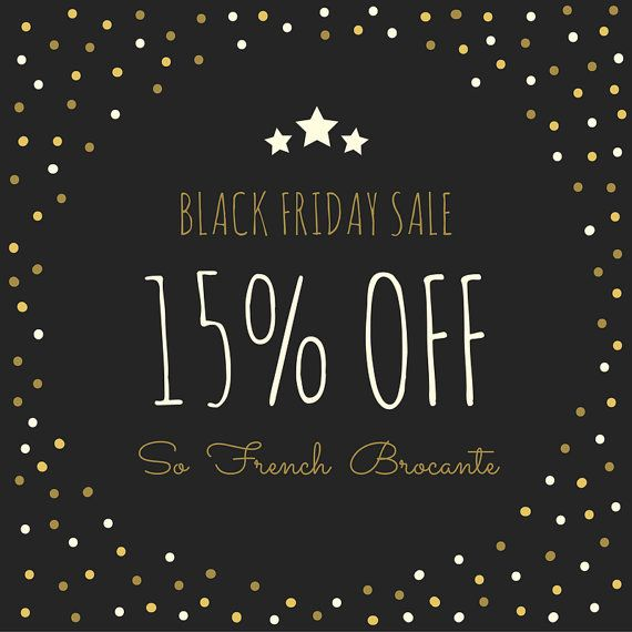 French Vintage Gift | Black Friday Sale | 15% OFF the whole Shop | Soldes | Cyber Monday Sale | Christmas Sale | French Country