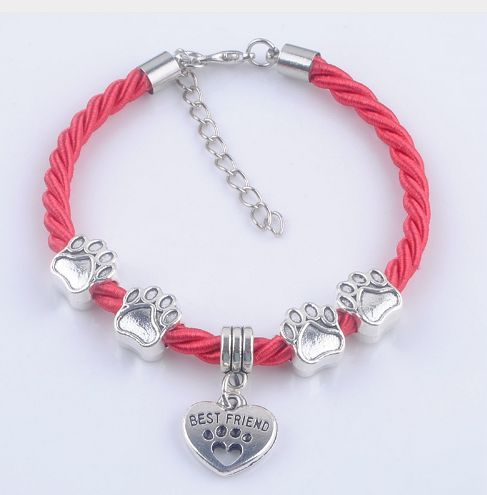 Womens Dog Rope Chain Bracelet FREE Shipping