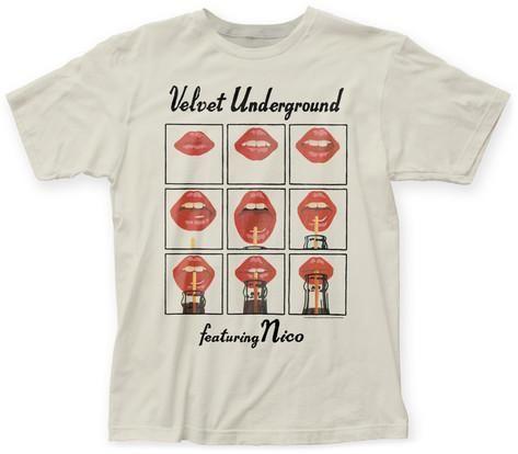 Velvet Underground- Lips Grid T-Shirts su AllPosters.it