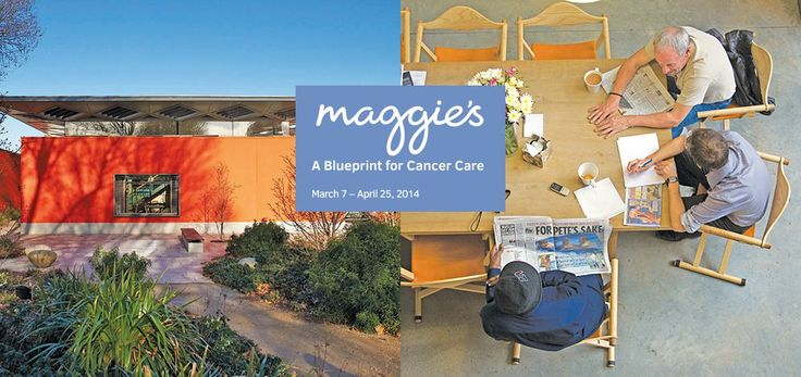 "New York School of Interior Design spring exhibition, ""Maggie's Centres: A Blueprint for Cancer Care"""