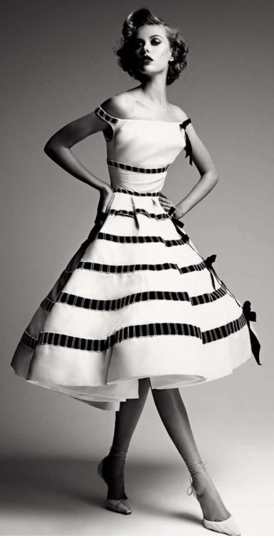 Frida Gustavsson in Dior by Patrick Demarchelier & Ingrid Sischy for Dior Couture Book