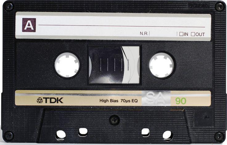 Audio Cassette Png
