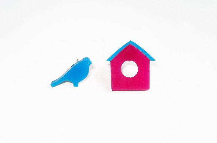 House & Bird stud earrings