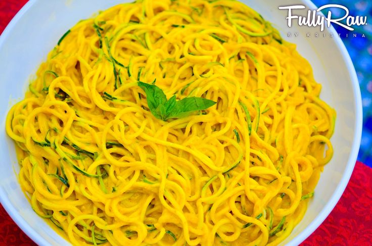 "Curry Noodle - we used it over spaghetti squash so it's not ""raw"" but it's still so delish!!"