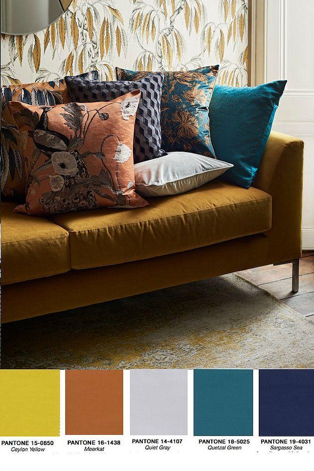 Interior Design Colour Trends For Autumn Winter 2018 In 2020