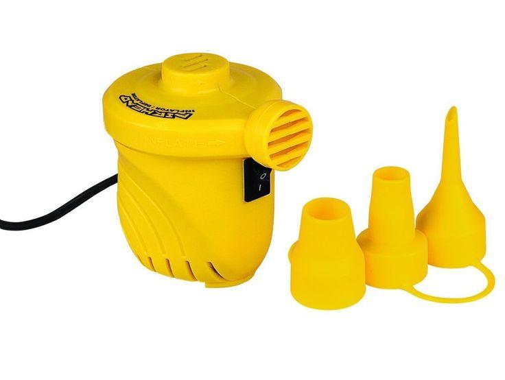Kwik Tek Airhead Air Pump 12 Volt Air Pump Portable Air Pump Boating Equipment #KwikTek