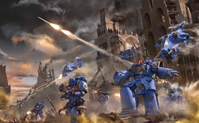 Space Marines Codex Cover Leak and More