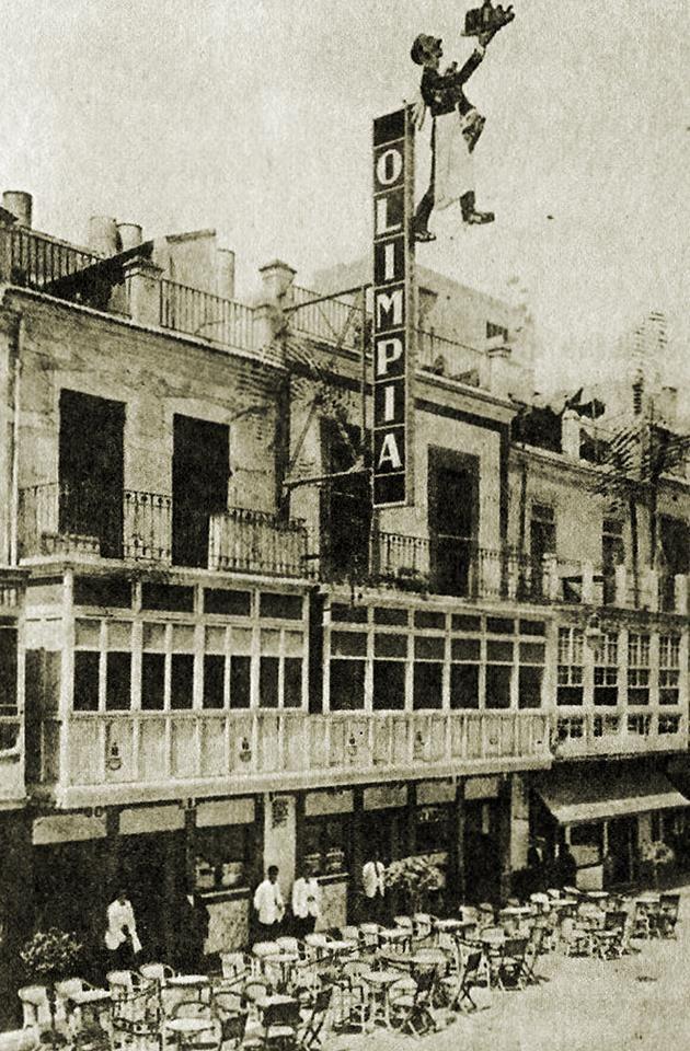 calle Jara Carrillo  café Olimpia en la https://www.facebook.com/MuseoHuertanoDeMurcia/photos/np.1454026843891372.100005348044367/952298071522093/?type=3