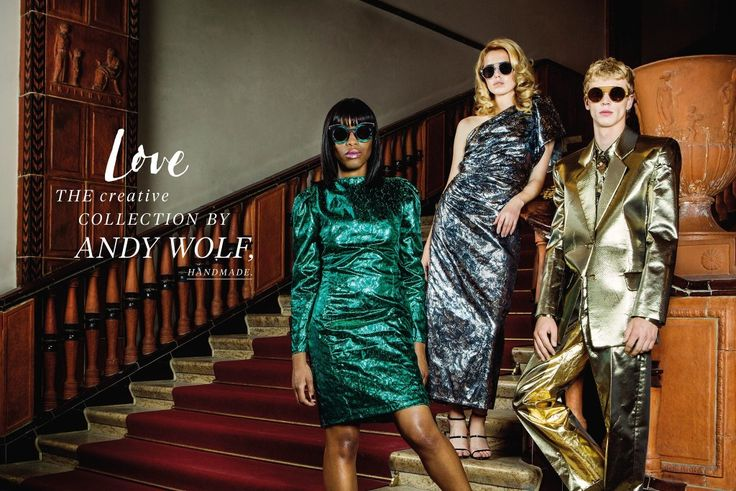 the new design collection ANDY WOLF, LOVE