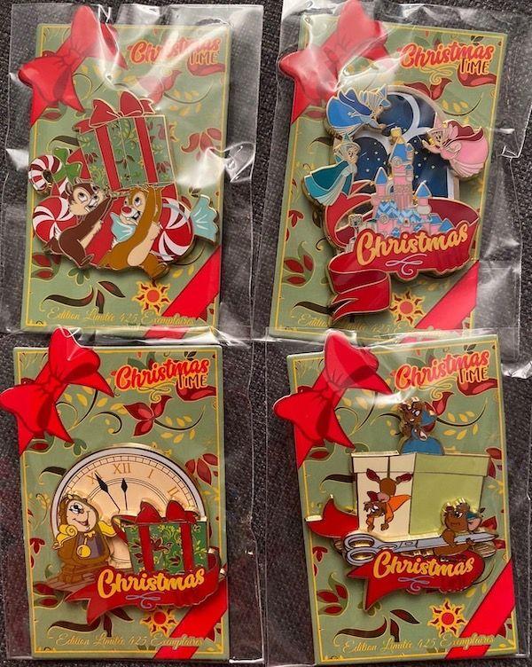 Disneyland Christmas Pins 2020 Christmas Time 2019 Disneyland Paris Event Pin Releases   Disney