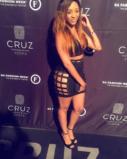 Nadia Nakai's Outfit For The Fashion Week Opening Is Just Wow!