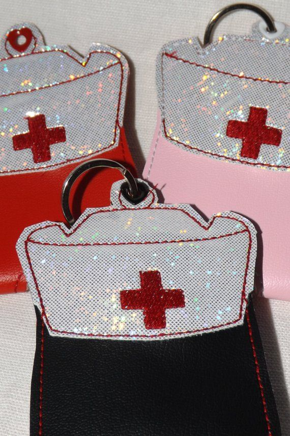 Nurse 2 Oz Hand Sanitizer Holder Hand Sanitizer Holder Hand