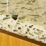 Lightweight Countertop Materials : Light colored recycled glass countertop--all about countertop material ...