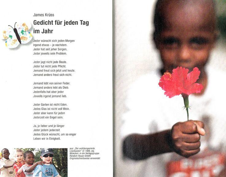 """""""Gedicht für jeden Tag im Jahr"""" von James Krüss - aus der Schnipselsammlung"""