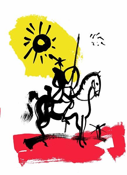 Don Quichotte Brian Grimwood