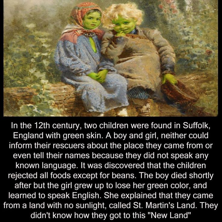 https://en.wikipedia.org/wiki/Green_children_of_Woolpit