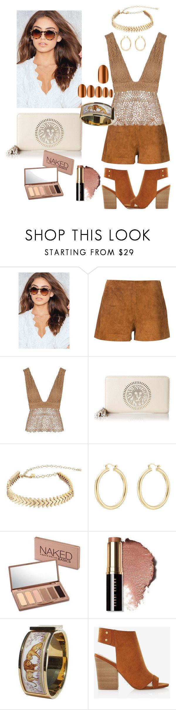 """""""Lion"""" by caenit ❤ liked on Polyvore featuring rag & bone, Related, Anne Klein, Rebecca Minkoff, Isabel Marant, Urban Decay, Bobbi Brown Cosmetics, Hermès, Express and Static Nails"""
