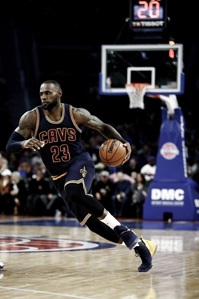 LeBron James in nothing less the best in the game. Truly an icon! 4-time MVP, 3 time champ and 3 time Finals MVP... unreal