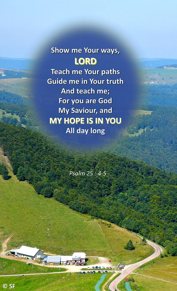 https://flic.kr/p/XUHu1u | Psalm 25, 4-5 | Ebenezer Halleluiah Creation View from the Grand Ballon (Vosges, France) 29th of Aug, 2017