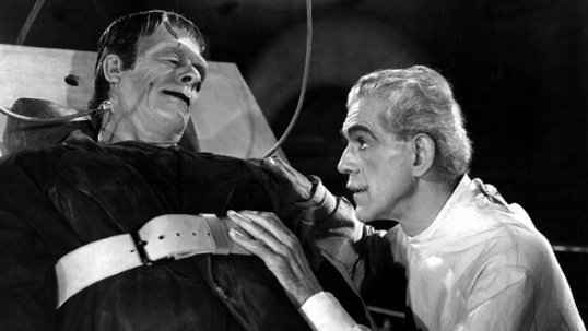 """Borlis Karloff painted a picture of a sympathetic creature capable of monstrous things in 1931's """"Frankenstein."""" And he did so entirely with grunts and facial expressions. Not good enough for Oscar apparently."""