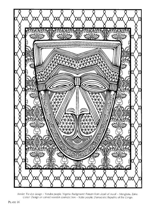 IColor Africa African DesignPrint PatternsOrnamentSchoolOnline DiaryColouringColoring BooksDiariesAfricans