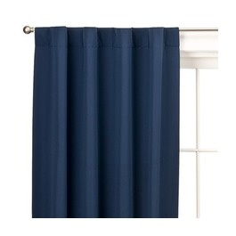 Maybe I should get the eclipse curtains, it must get bright up there when guests sleep over.: Eclip Curtains, Blue Curtains, Eclipse Curtains