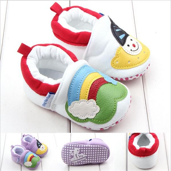 Snowman First Walkers Shoes