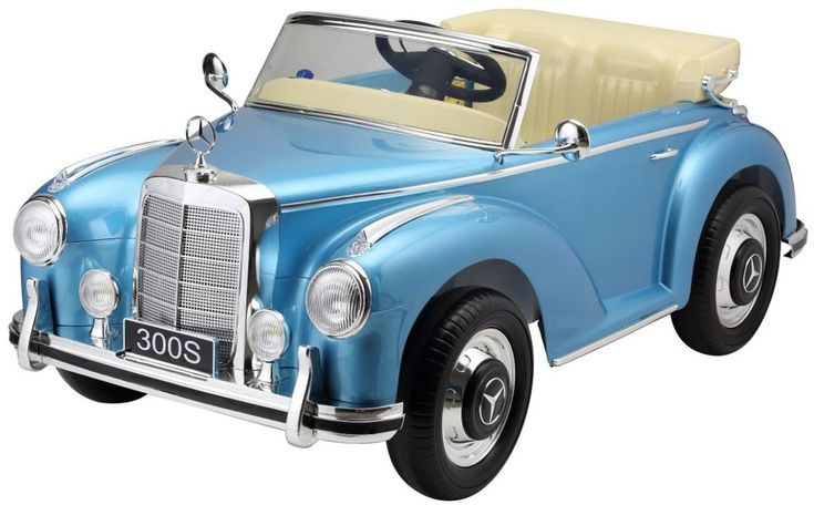Mercedes 300S Blue Power Wheels for kids