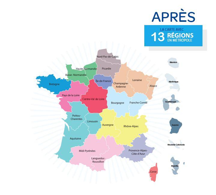 Réforme territoriale : coup d'envoi de la nouvelle architecture de la République | Gouvernement.fr