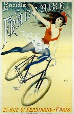 Antique Vintage Bicycle Posters