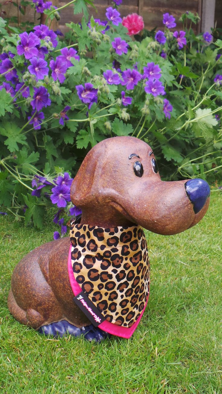 Leopard Print and Pink Dog Collar Bandana, Handmade by 'Reign About Town' by ReignAboutTown on Etsy