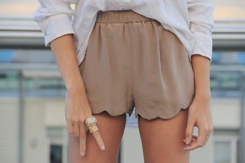 I love shorts. These are so classy, easy and wearable and could be paired with anything.