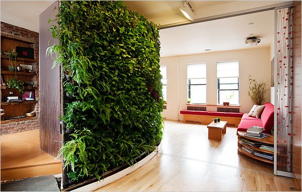 Interior, Vertical Gardens