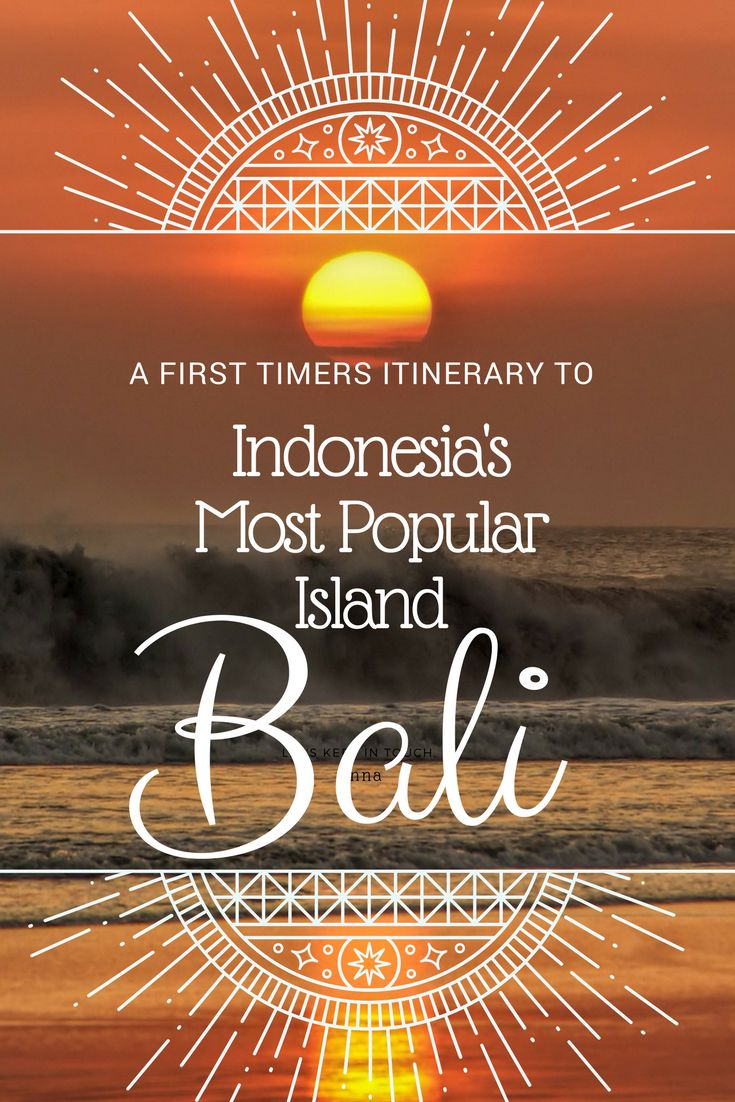 Ohhh, Bali. Just the thought of this beautiful island makes my heart beat faster. And believe me, those pictures are nothing compared to actually visiting Bali. Here's a smashing itinerary for all you first timers such as your lovely self. #BaliItinerary #BaliIndonesia #VisitBali