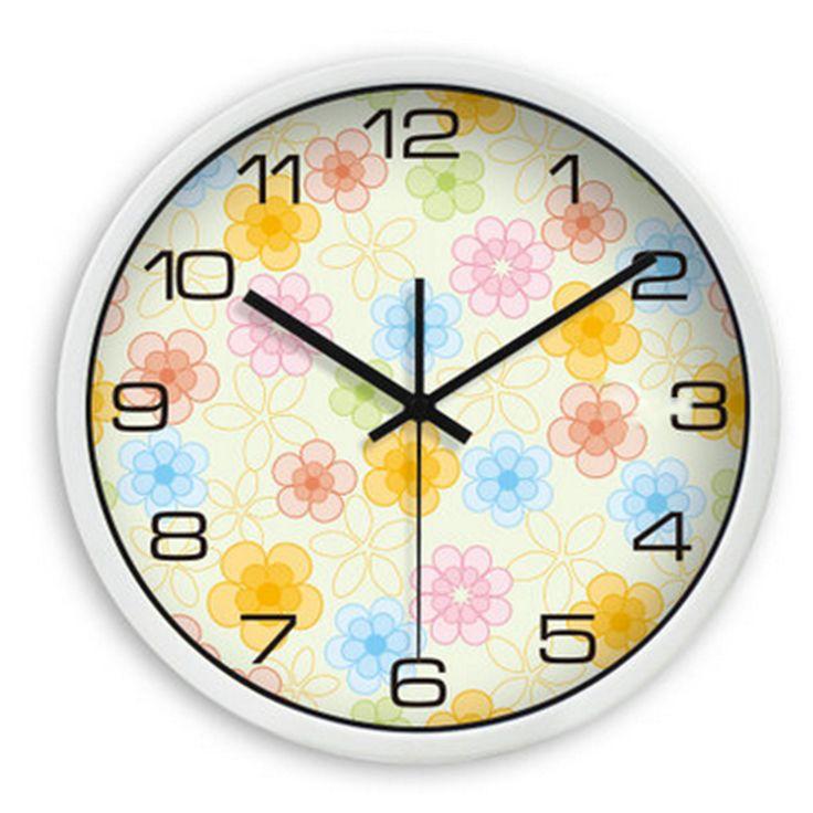 Decorative Large Wall Clocks Modern Simple Placa Solar Para Casa Vintage Roman Design Room Antique Wall Clock Home Decor DDN466