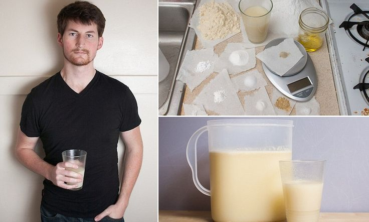 The drink that means you'll never need to eat again: 24-year-old fed up with…