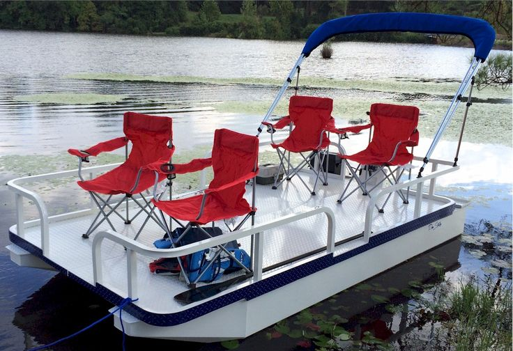 15 best mini bass boats images on for Fishing pontoon boats